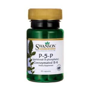 Swanson P-5-P (Pyridoxal-5-Phosphate) Coenzymated Vitamin B-6