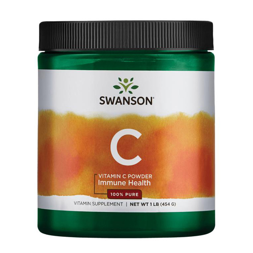 Swanson Vitamin C Powder 454  grams - 100% Pure