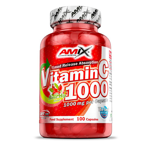 AMIX Vitamin C with Rose Hips 1000 mg