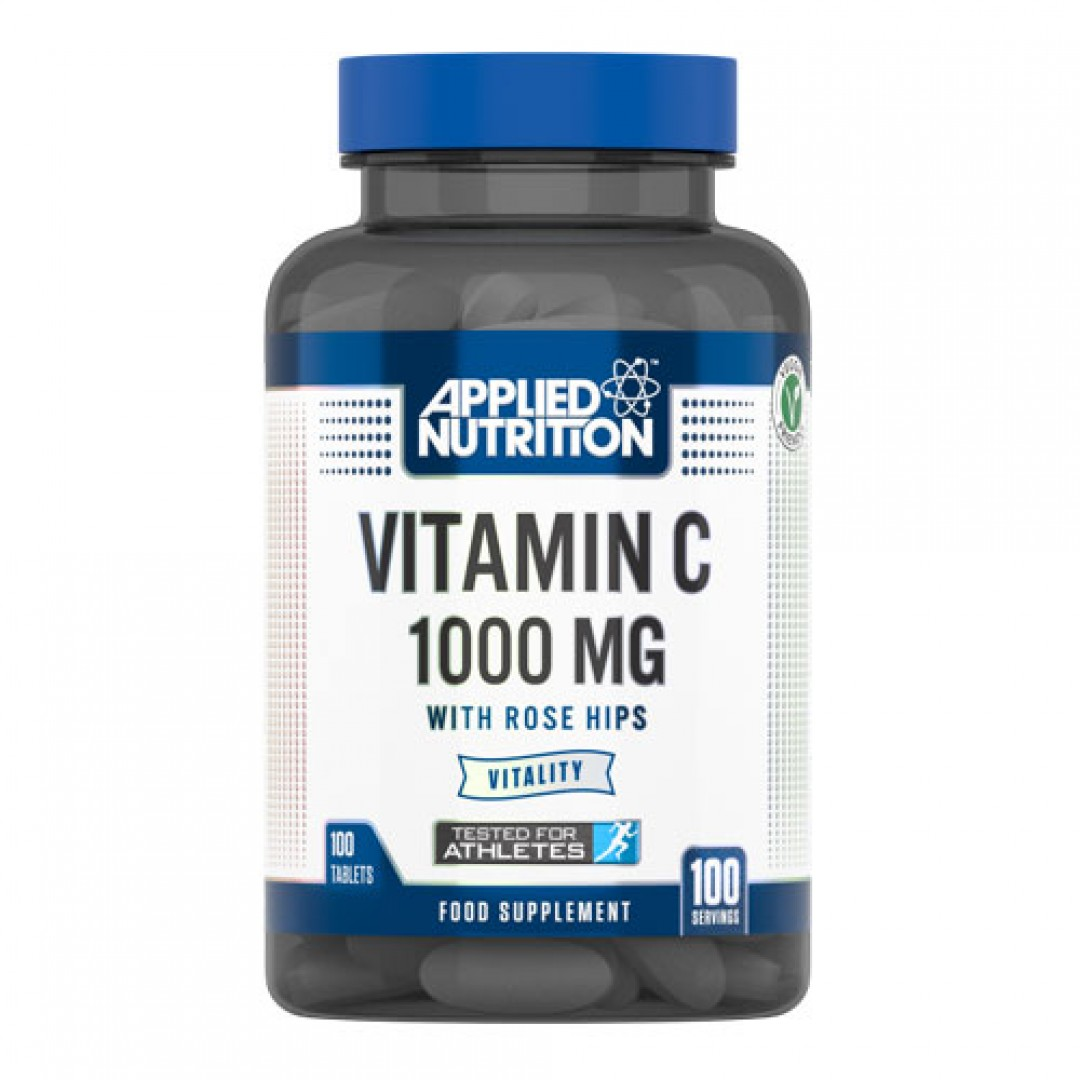 Applied Nutrition Vitamin C with Rose Hips 1000mg цена