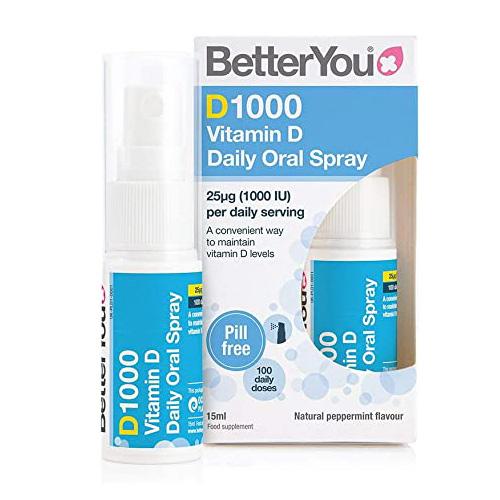 BetterYou D1000 Daily Vitamin D Oral Spray