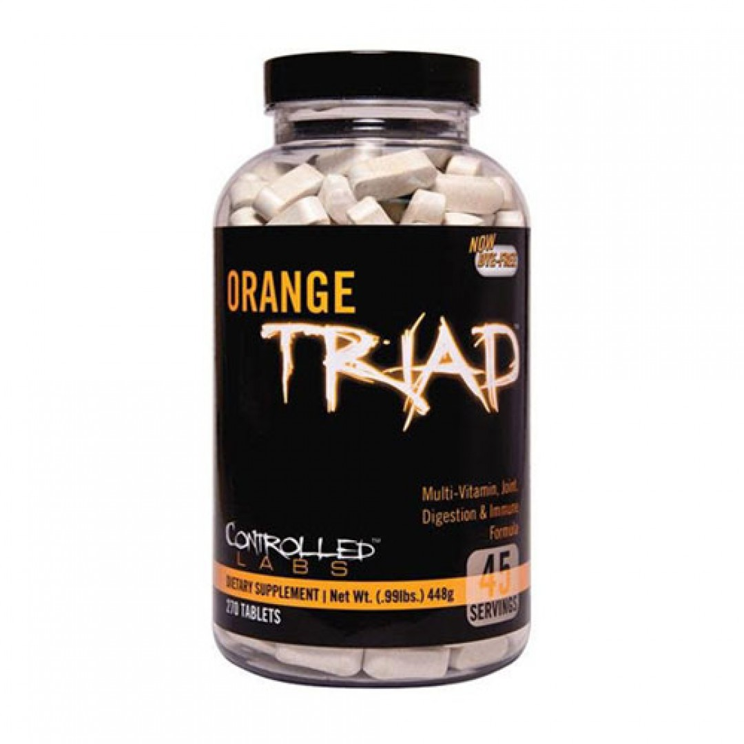 Controlled Labs Orange Triad 270 tablets цена