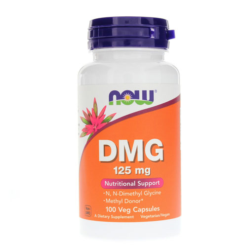 NOW Foods DMG 125 mg (Диметилглицин)