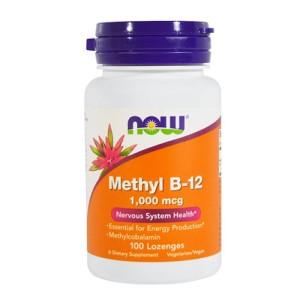 Now Foods Methyl B-12 1,000 mcg