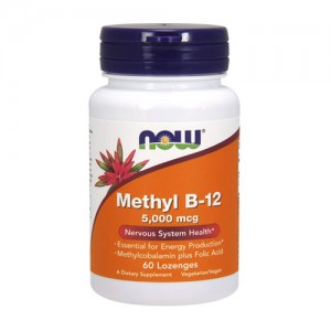 Now Foods Methyl B-12 5,000 mcg