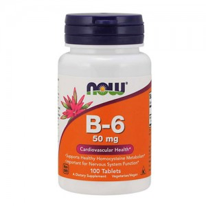 Now Foods Vitamin B6 (Pyridoxine)