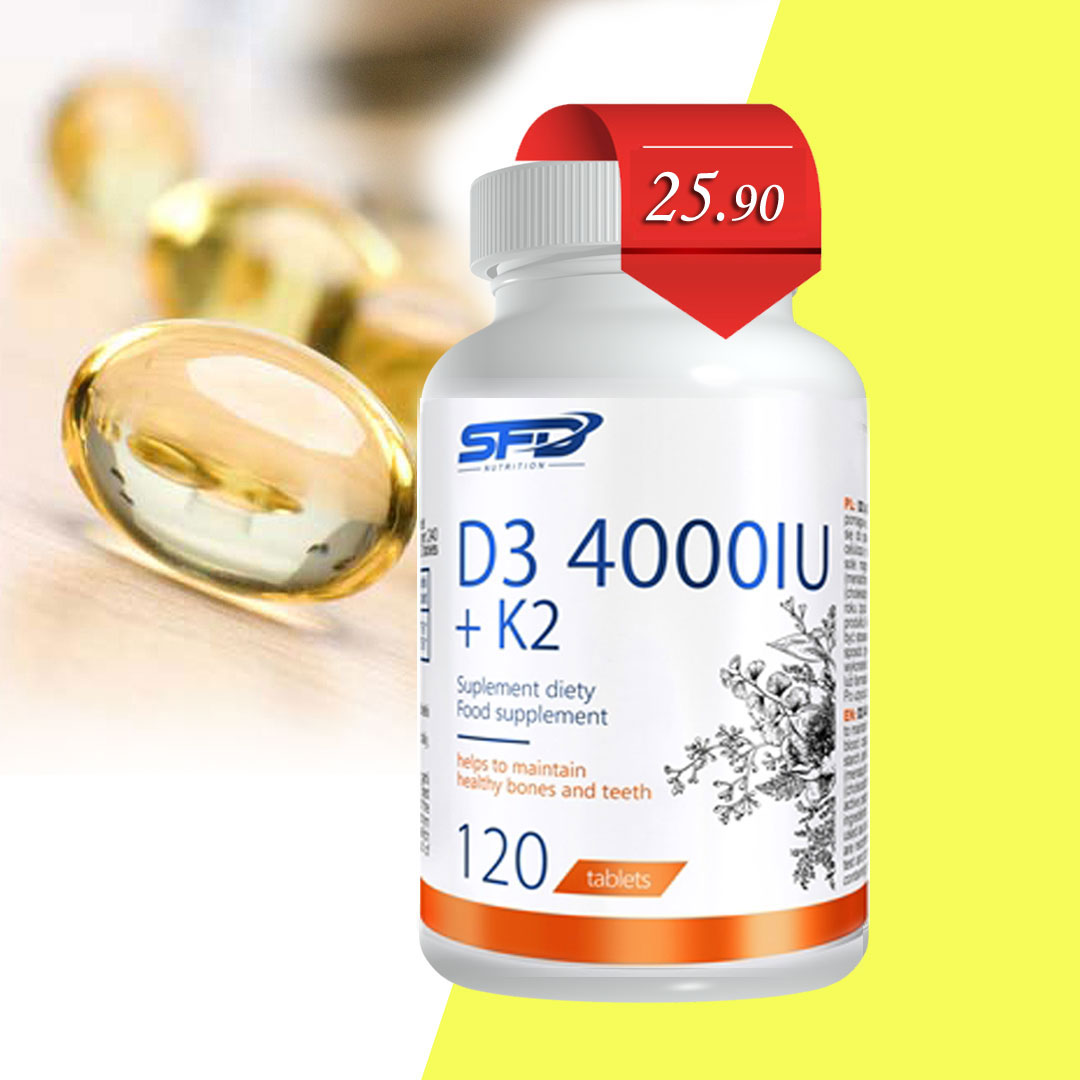 SFD Vitamin D3 4000 IU + K2 цена