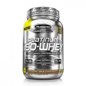 MuscleTech Essential Series Platinum 100% Iso Whey