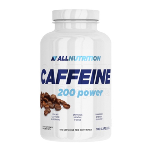 All Nutrition Caffeine 200mg 100 Caps