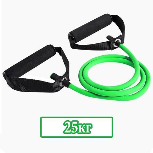 Ластици за тренировка с ръкохватка - Съпротивление 25 кг