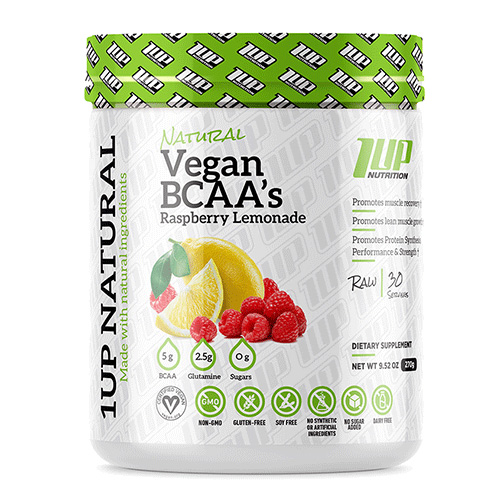 1UP Natural Vegan BCAA + Glutamine