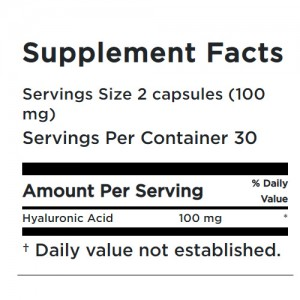 Neocell Hyaluronic Acid 100 mg 60 Caps