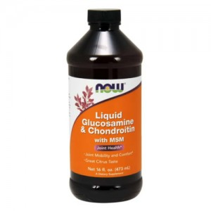 Now Foods Liquid Glucosamine & Chondroitin with MSM