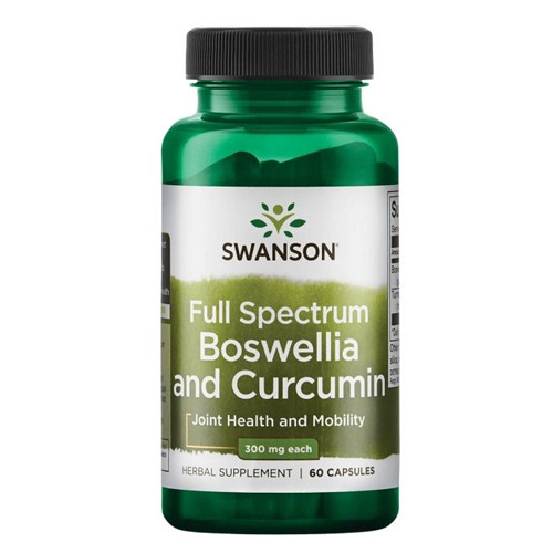 Swanson Full Spectrum Boswellia and Curcumin