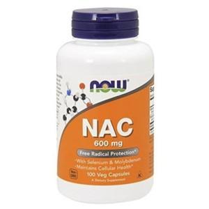 Now Foods N-Acetyl Cysteine NAC 600 mg цена