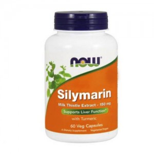 Now Foods Silymarin Milk Thistle Extract 150 mg 60 Veg Capsules цена