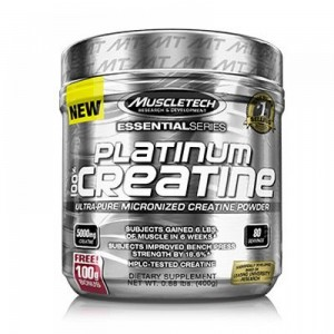 MuscleTech Essentials series Platinum 100% Creatine цена