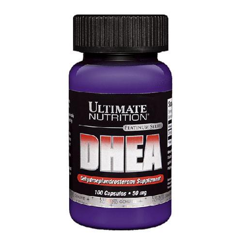 Ultimate Nutrition DHEA 25 mg. 100 caps.