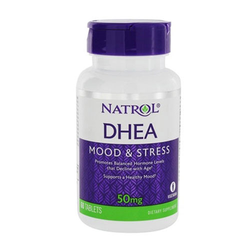 Natrol DHEA 50 mg. 60 caps.