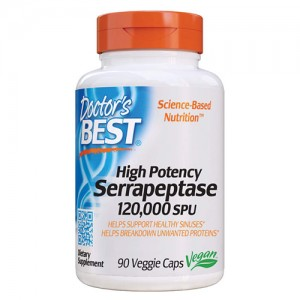 Doctor's Best High Potency Serrapeptase 120000 SPU