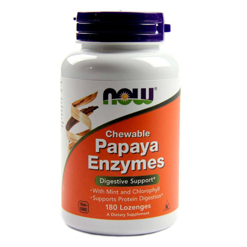 Now Foods Papaya Enzymes Chewable