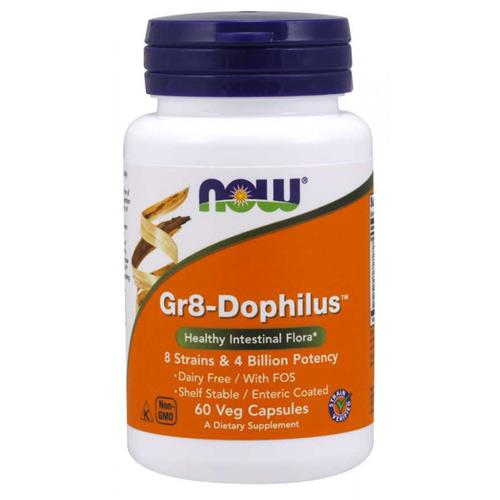 Now Foods Gr8-Dophilus - 60 Veg Capsules