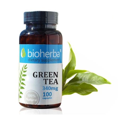 Зелен Чай 340 мг Биохерба