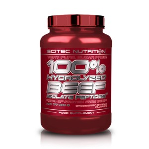 Scitec 100% Hydrolyzed Beef Isolate Peptides цена