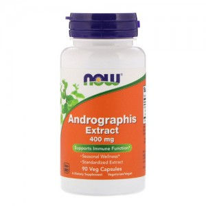 Now Foods Andrographis Extract 400 mg 90 caps