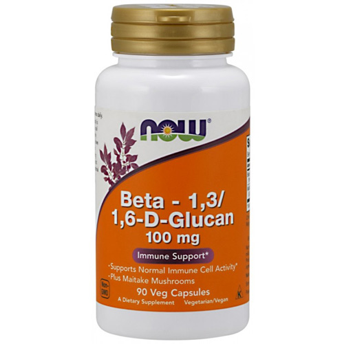 Now Foods Beta 1.3/1.6 D-Glucan 100 mg