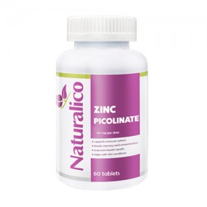 Naturalico Zinc 50 mg 60 caps цена