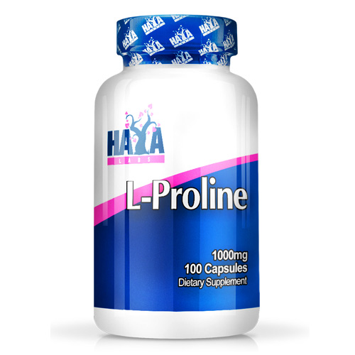 Haya Labs L-Proline 1000 mg 100 Caps