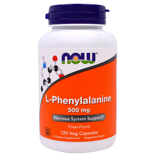 Now Foods L-Phenylalanine 500 mg