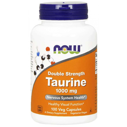 Now Foods Taurine 1000 mg