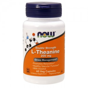 Now Foods L-Theanine 200 mg