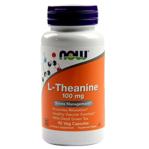 Now Foods L-Theanine 100 mg