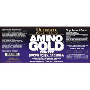 Ultimate Nutrition Amino Gold 325 tablets
