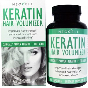 NeoCell Keratin Hair Volumizer 60 Caps цена