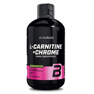 BioTech USA L-Carnitine Liquid with Chrome цена