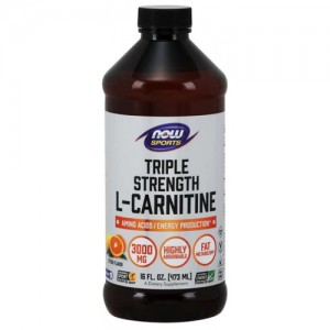 Now Foods L-Carnitine Liquid 3000 mg цена
