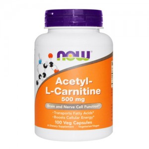Now Foods Acetyl-L-Carnitine цена