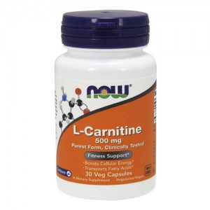 Now Foods L-Carnitine 500mg цена