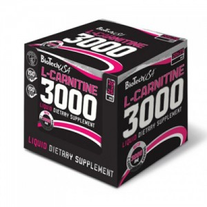 BioTech USA L-Carnitine 3000 Ampoules цена
