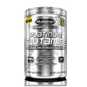 Muscletech Essential Series Platinum 100% Glutamine цена
