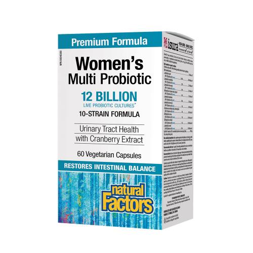 Natural Factors Women's Multi Probiotics