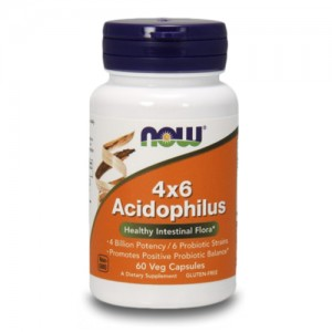 Now Foods 4x6 Acidophilus