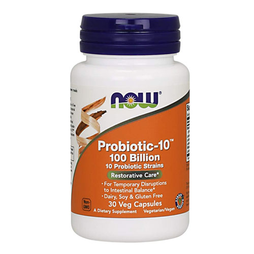Now Foods Probiotic-10 100 Billion 30 капсули