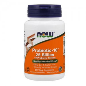 Now Foods Probiotic-10 25 Billion 50 капсули