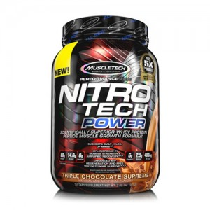MuscleTech Nitro-Tech Power Whey Protein цена