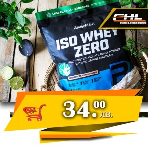 BioTech USA Iso whey zero цена